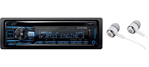 Alpine CDE-172BT Single DIN Bluetooth in-Dash CD...