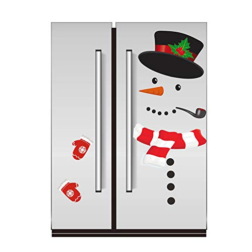 WESJOY Christmas Snowman Refrigerator Magnets,...