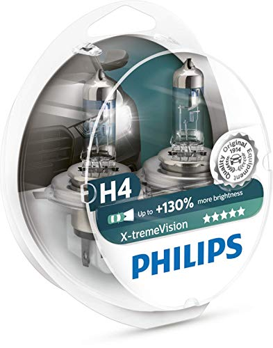 Philips X-treme Vision +130% Headlight Bulbs (Pack...