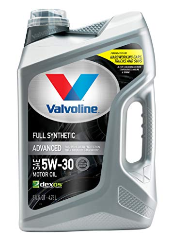 Valvoline Advanced Full Synthetic SAE 5W-30 Motor...