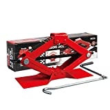 BIG RED T10152 Torin Steel Scissor Lift Jack Car...