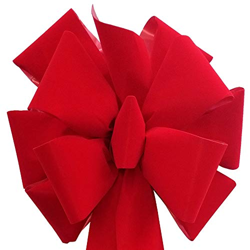 4-Pack Big Christmas Bows 15' x 44' Handmade with...