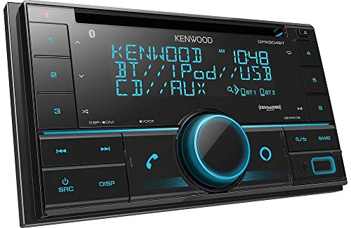 Kenwood DPX502BT Double-Din CD Receiver with USB...
