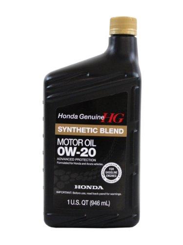 Genuine Honda Fluid 08798-9036 0W-20 Full...