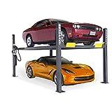 BendPak 4-Post Car Lift - 9000-Lb. Capacity, Gray...