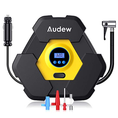 Audew Portable Air Compressor Pump, Auto Digital...