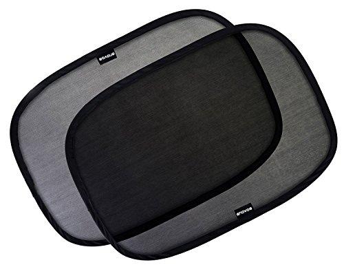 Enovoe Car Window Shade - (4 Pack) - 19'x12' Cling...