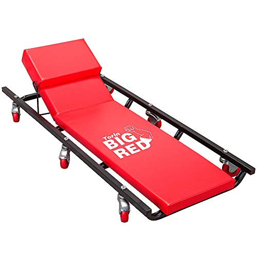 Torin Big Red Rolling Garage/Shop Creeper: 40'...