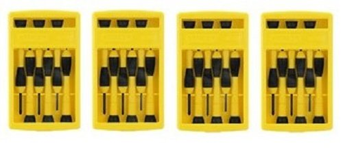 Stanley 66-052 6 Piece Precision Screwdriver Set...