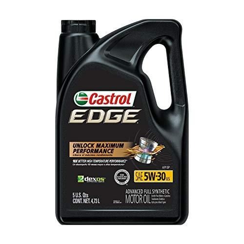 Castrol 03084C Edge 5W-30 Advanced Full Synthetic...