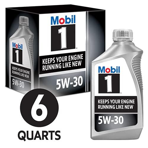 Mobil 1 94001 5W-30 Synthetic Motor Oil - 1 Quart...
