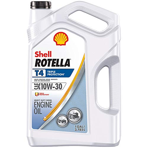 Shell ROTELLA 550019908 T5 10W-30 Synthetic Blend...