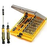 JACKLY 45 in 1 Mini Screwdriver Set Professional...