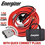 Energizer Jumper Cables, 30 feet, 1 Gauge, 800A,...
