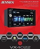Jensen VX4022 6.2 inch LCD Multimedia Touch Screen...