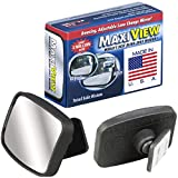 Made in USA, HD Metal Lense 360° Blind Spot...