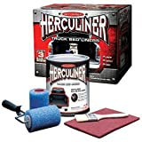 Herculiner HCL1B8 Brush-on Bed Liner Kit,Black