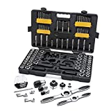 GEARWRENCH 114 Piece Ratcheting Tap and Die Set,...