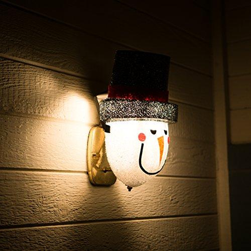 ienjoyware Snowman Porch Light Cover — Christmas...