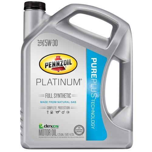 Pennzoil Platinum Full Synthetic Motor Oil 5W-30...