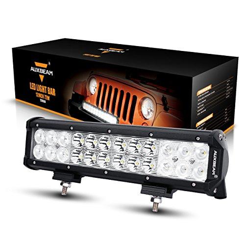 Auxbeam LED Light Bar 12' 72W Driving Light 24pcs...
