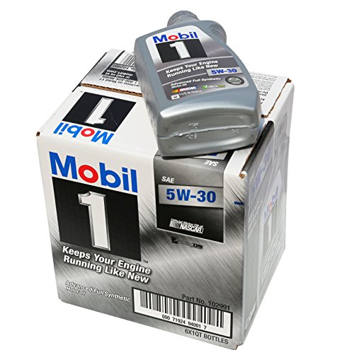 Mobil 1 94001 5W-30 Synthetic Motor Oil - 1 Quart...