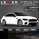 LEXEN 2Ply Carbon All Windows PreCut Tint Kit -...