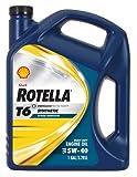 Shell Rotella T6 Full Synthetic Heavy Duty Engine...