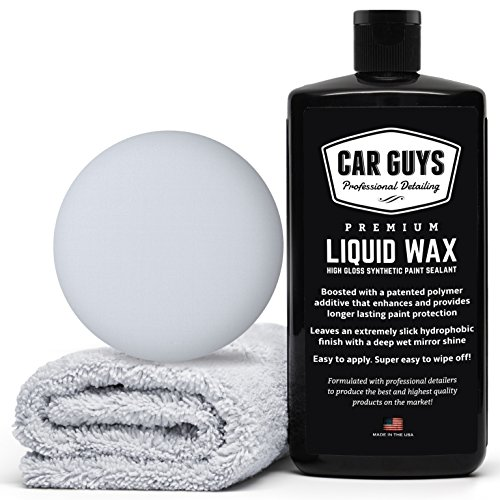 CarGuys Liquid Wax - The Ultimate Car Wax Shine...