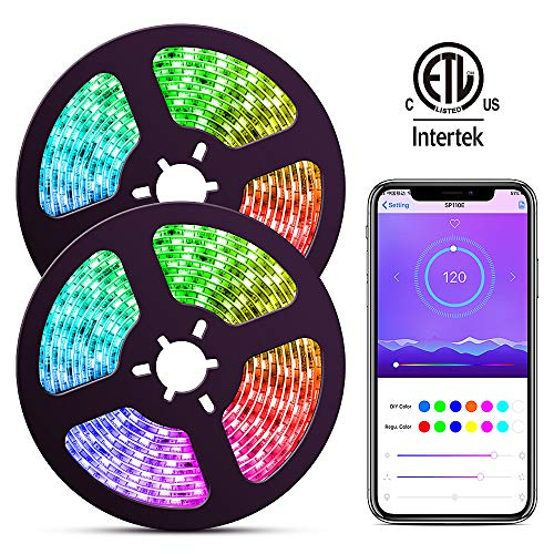 ELlight LED Strip Lights with APP, Dream Color...