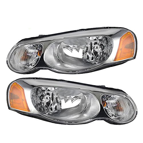 Pair Set Halgoen Combination Headlights Headlamps...