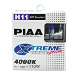 PIAA 15211 H11 Xtreme White Plus High Performance...