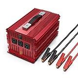 BESTEK 2000W Power Inverter 3 AC Outlets DC 12V to...