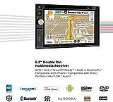 Jensen VX7020 6.2 inch LCD Multimedia Touch Screen...