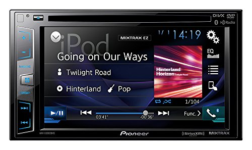 Pioneer AVHX3800BHS 2-DIN Receiver with 6.2'...