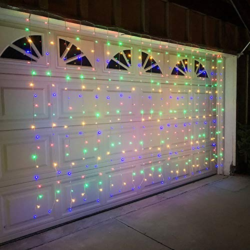 Alion Home Curtain Lights 2-in-1 Dual Color...