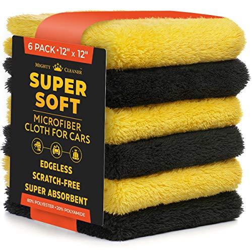 Premium Microfiber Towels for Cars - Thick...