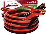EPAuto 6 Gauge x 16 Ft Heavy Duty Booster Jumper...