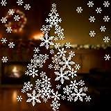 Coogam 135 PCS Christmas Decorations Snowflake...