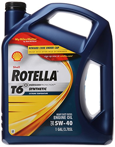 Shell Rotella T6 Full Synthetic Heavy Duty Engine...