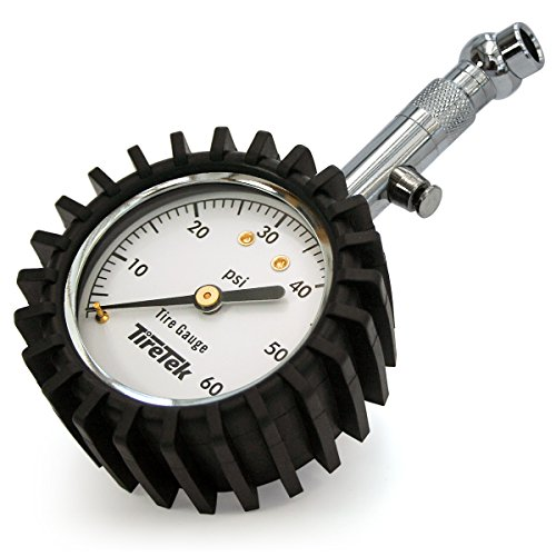 TireTek Premium Car Tire Pressure Gauge 60 PSI -...