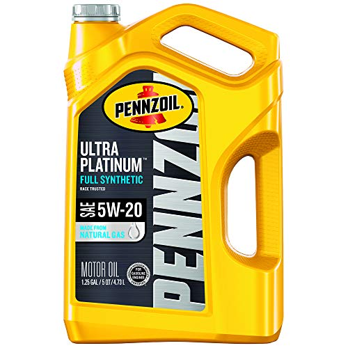 Pennzoil Ultra Platinum Full Synthetic 5W-20 Motor...