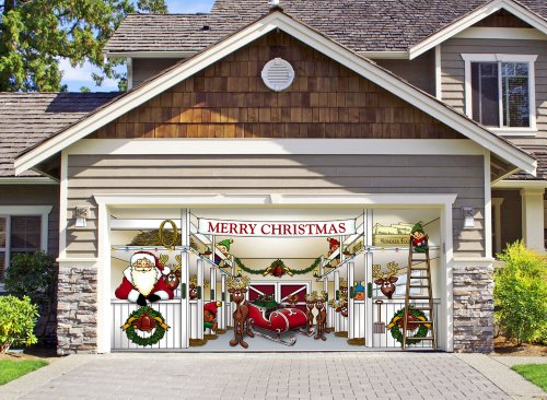 Victory Corps Outdoor Christmas Holiday Garage...