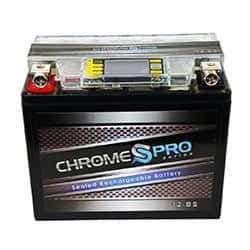 Chrome Battery YTX12-BS