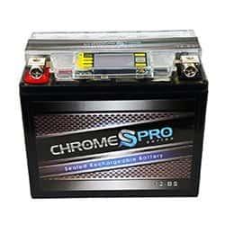 Chrome Battery YTX12-BS