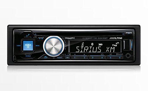 Alpine CDESXM145BT Advanced Bluetooth CD / SiriusXM Receiver