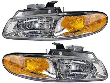 QP D113M/N-a Dodge Caravan Passenger/Driver Lamp Assembly Headlight