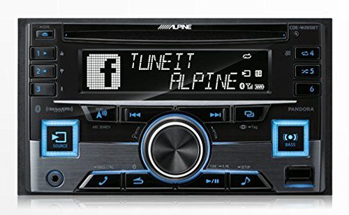 Alpine CDE-W265BT Double DIN Bluetooth In-Dash CD/AM/FM Receiver