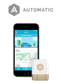 car tracker app automatic