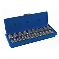 IRWIN HANSON Hex Head Multi-Spline Screw Extractor Set